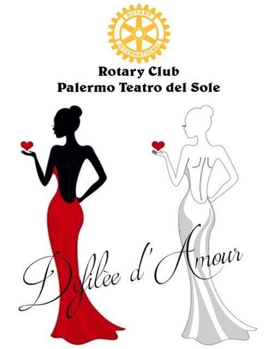 Defilèe D'Amour Rotary Club Palermo Teatro del Sole pro Rotary F